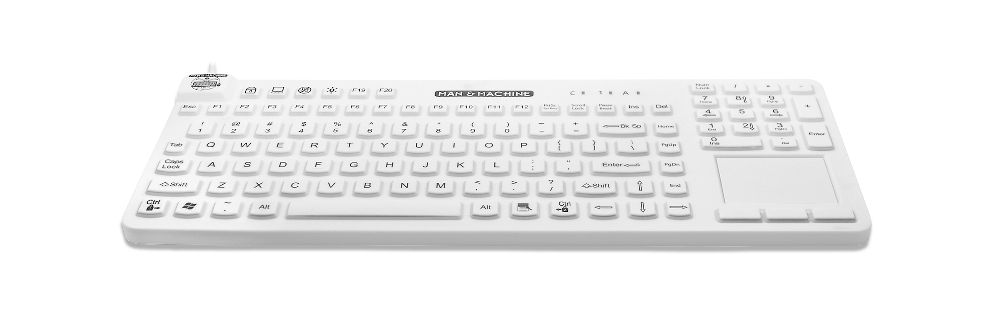 Man & Machine REALLYCOOLTOUCH-LP White